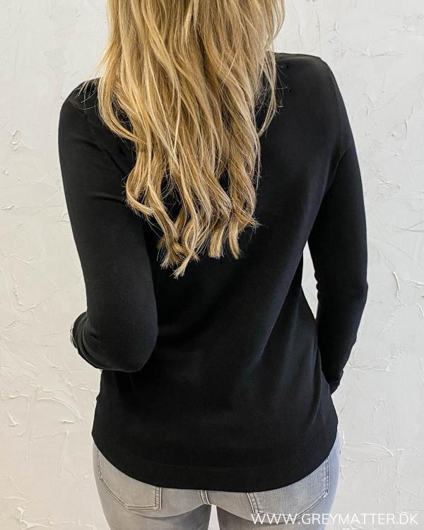Vibolonia Black Rollneck Knit