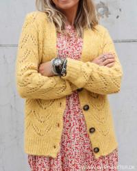 Pcbibi Nugget Gold Knit Cardigan