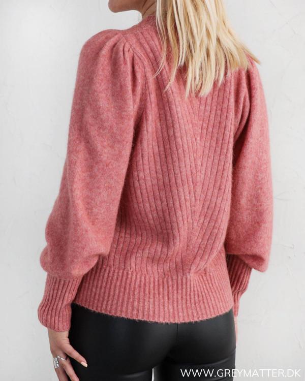 Neo Noir Kelsey Rose Melange Knit Blouse
