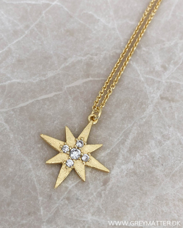 Golden Star Necklace