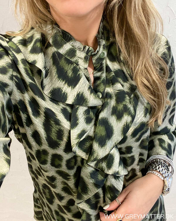Karmamia Stella Green Leo Shirt