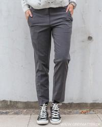 Andrea Antracit Melange Pants