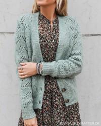 Pcbibi Jadeite Knit Cardigan