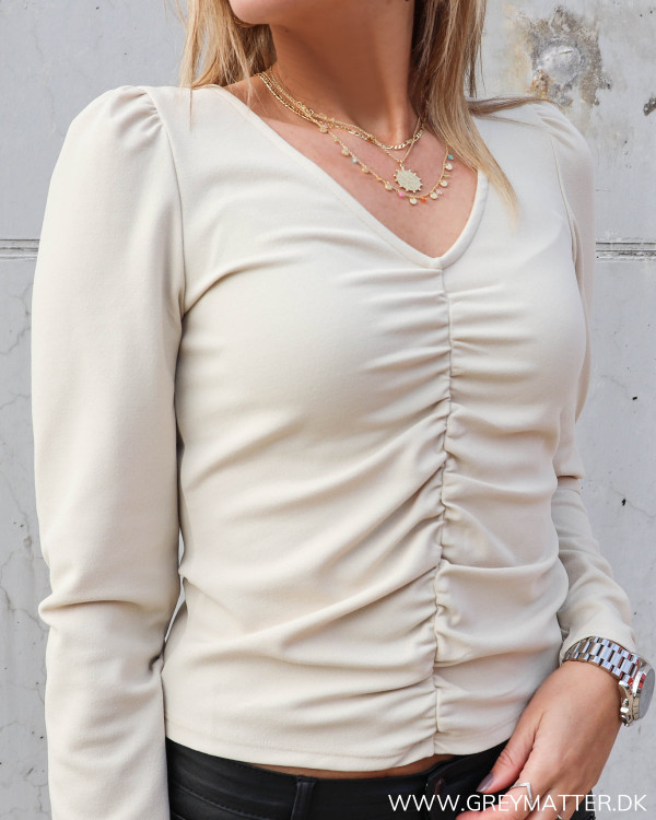Smuk bluse fra Pieces til damer