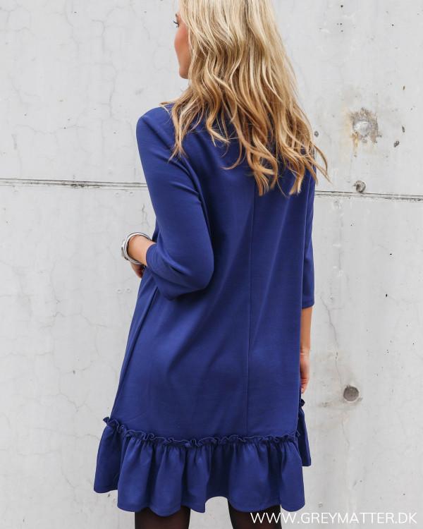Vila kjole i smuk blå farve