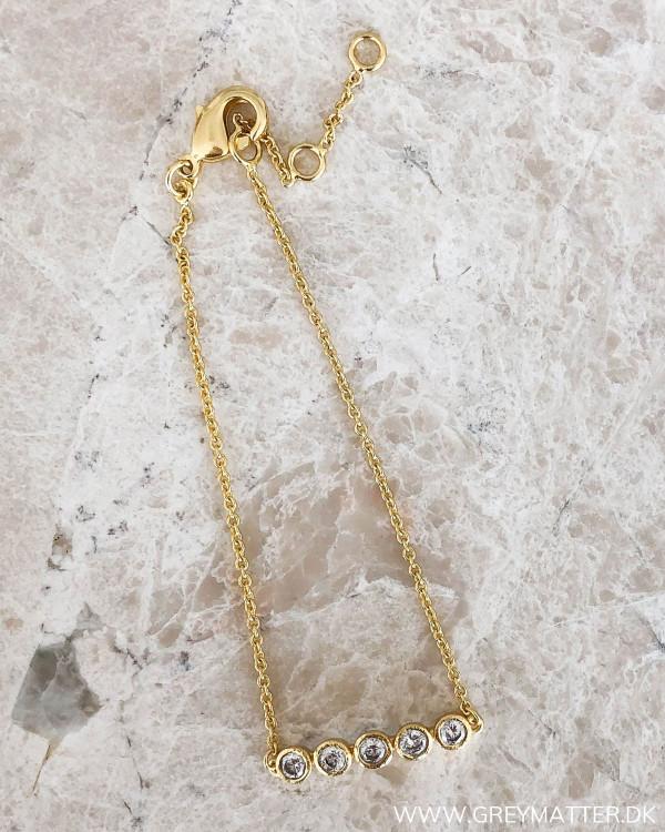 Golden Zircon Bracelet