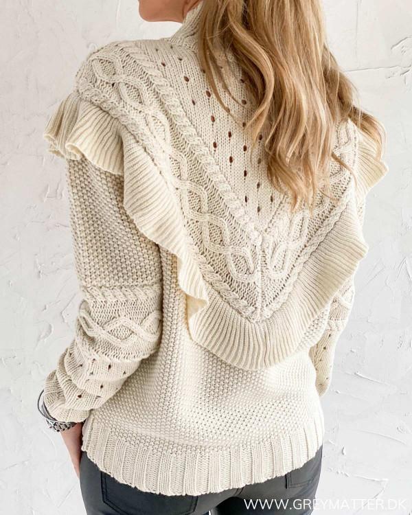 Smuk strik trøje fra Vila til damer