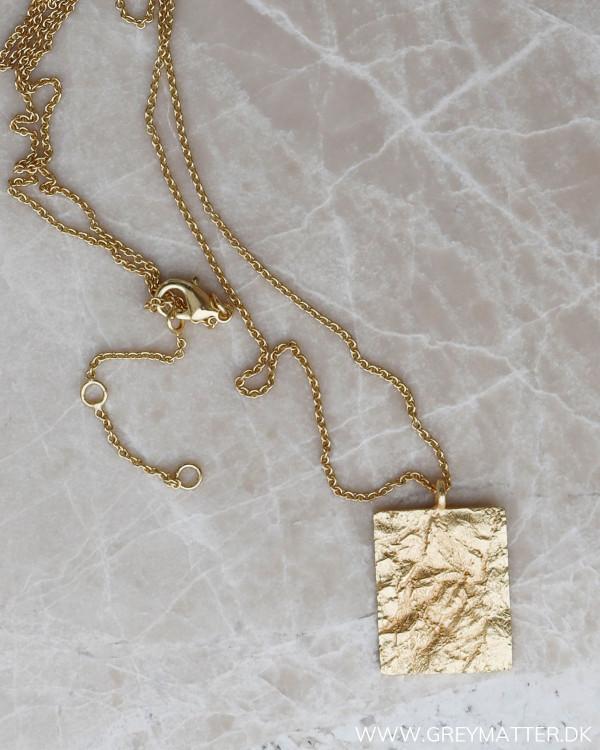 Pure by Nat halskæde guld