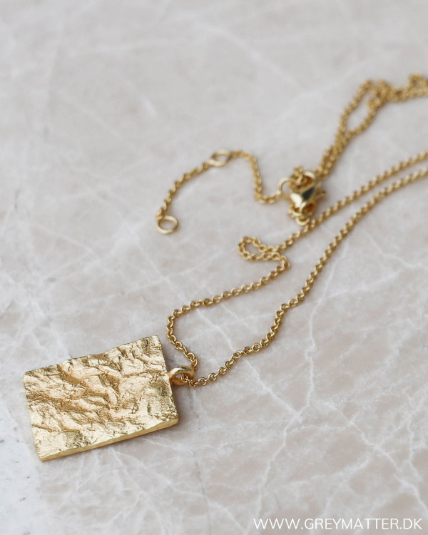 Pure By Nat plated gold chain