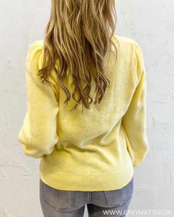 Pcdina Pale Banana Knit Cardigan