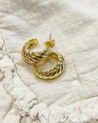 Golden Shell Earring