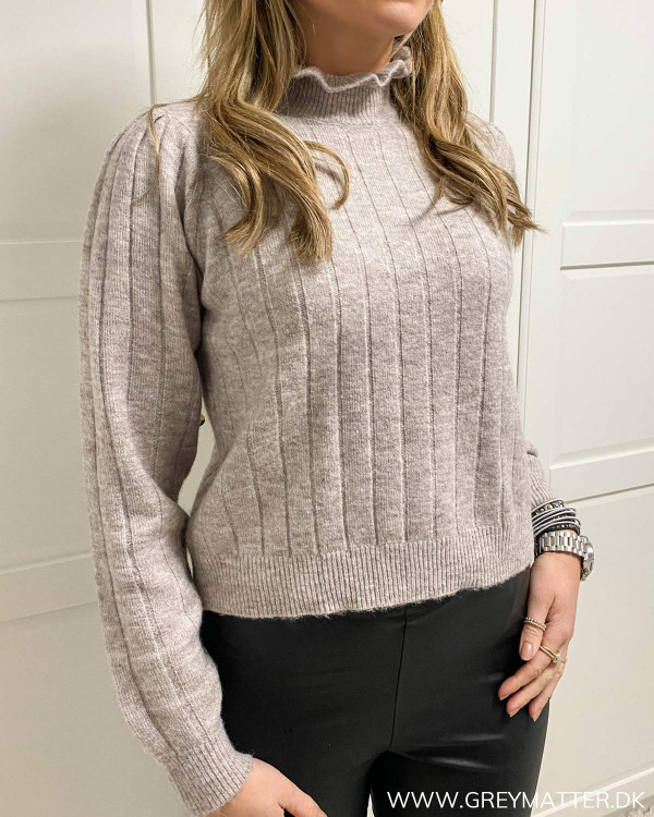 Pcgiana High Neck Knit