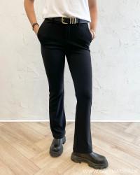 Onlrocky Mid Flared Black Pants