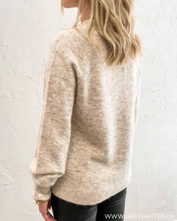 Vifunkla O-Neck Birch Knit