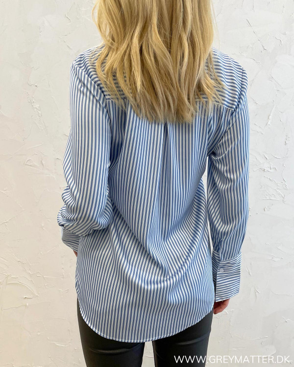 Zoe Blue Stripe Shirt