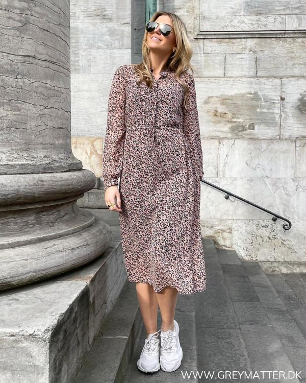 Printet kjole fra Vila