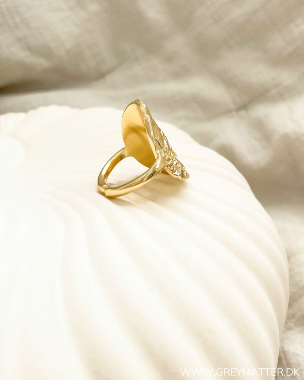 Golden Metalic Folie Ring