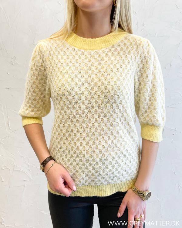 Vihoney Sunlight White Alyssum Knit