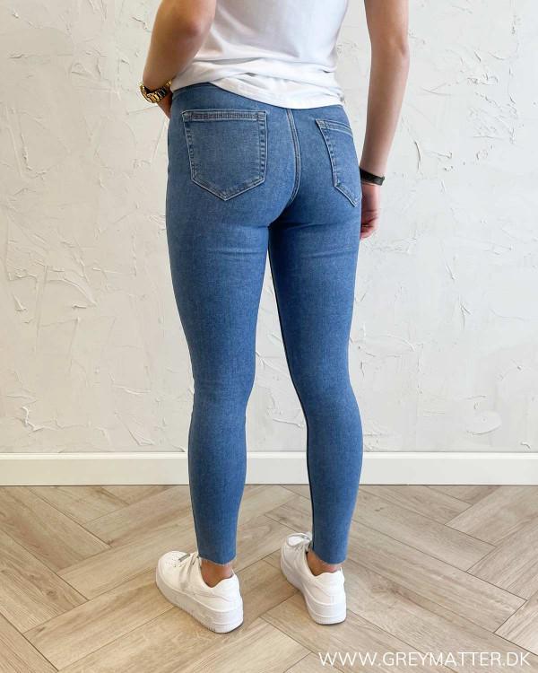 Stramme denim bukser til damer