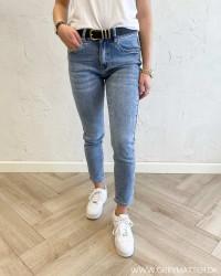 Highwaist Blue Denim Jeans