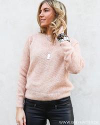 Rose O-Neck Knit