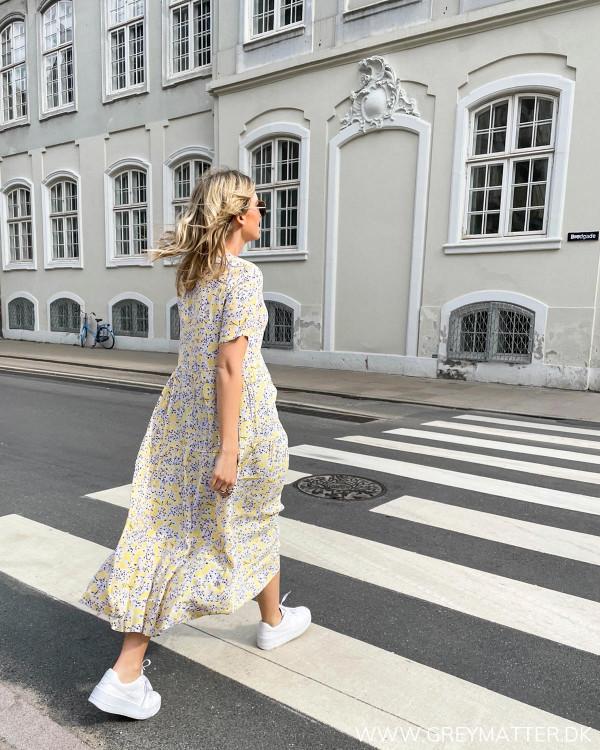 Kjole fra Only med print