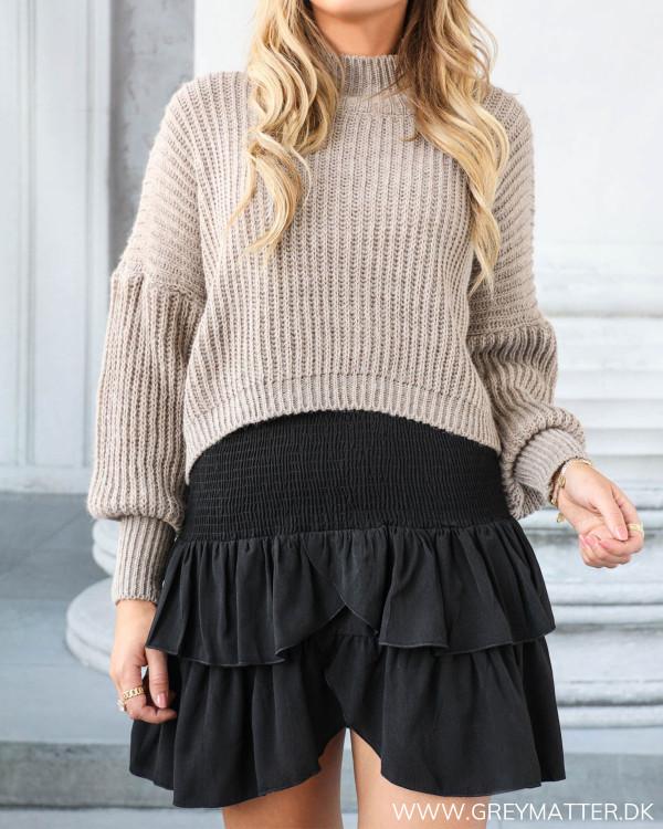 Carin Black Skirt fra Neo Noir