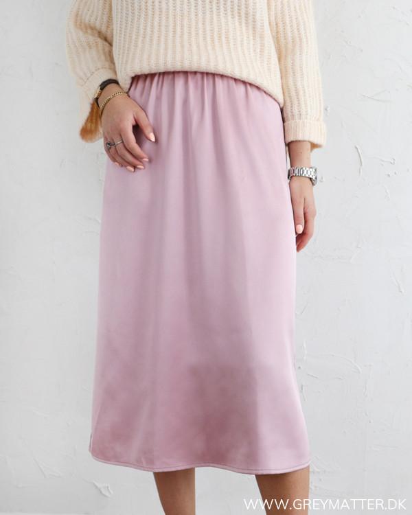 Yasmarina Burnished Lilac Midi Skirt