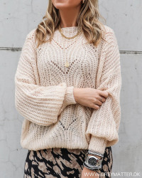 The Loose Beige Knit