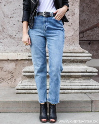 Pcsiri Straight Light Blue Denim Jeans