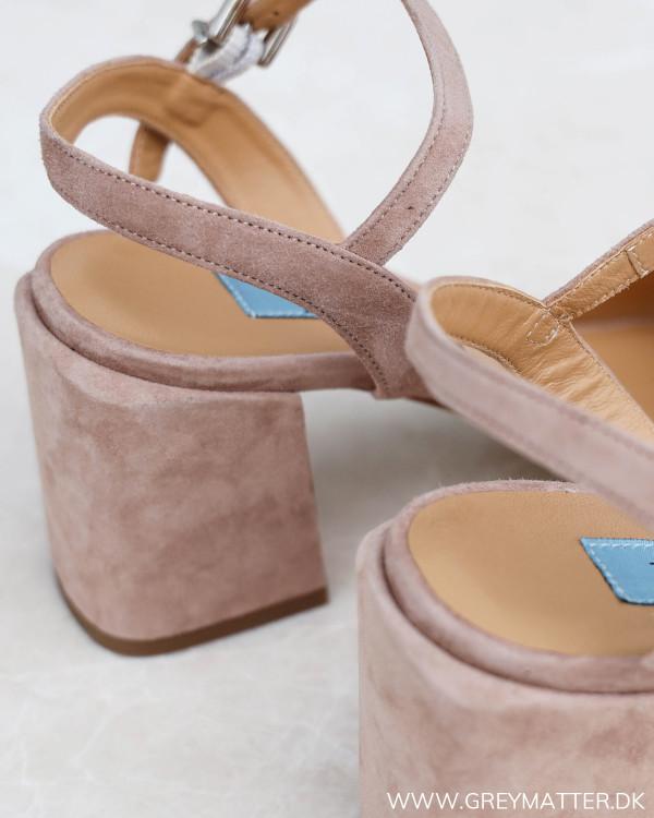 Apair Amalfi Rose Chunky Heel