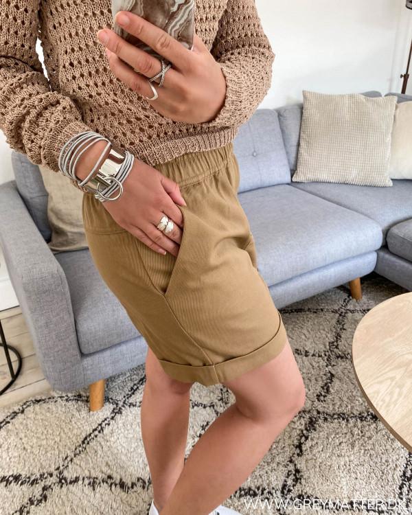 Vila shorts set fra siden