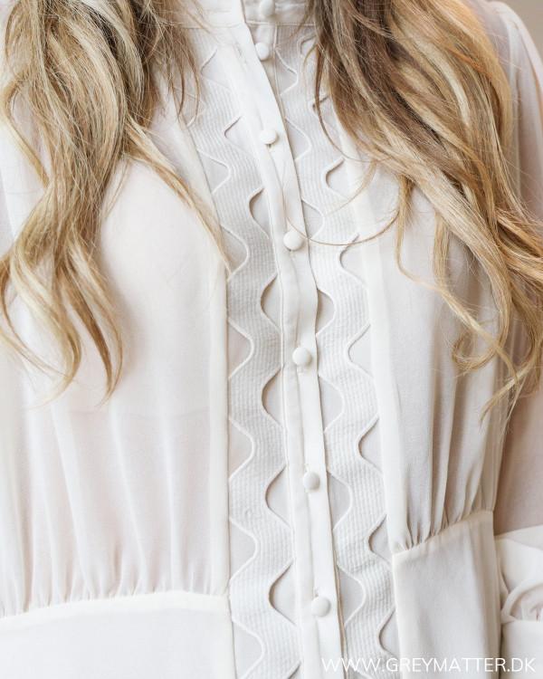 Hvid bluse fra YAS
