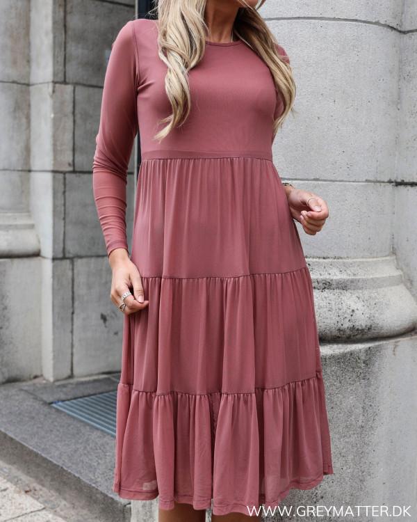 Vidavis Solid Rose Dawn Dress