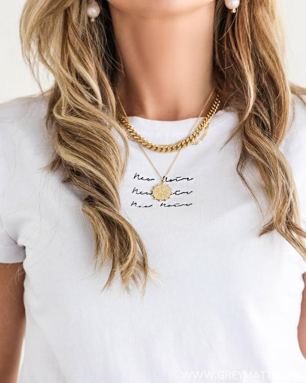 Hvid t-shirt fra Neo Noir
