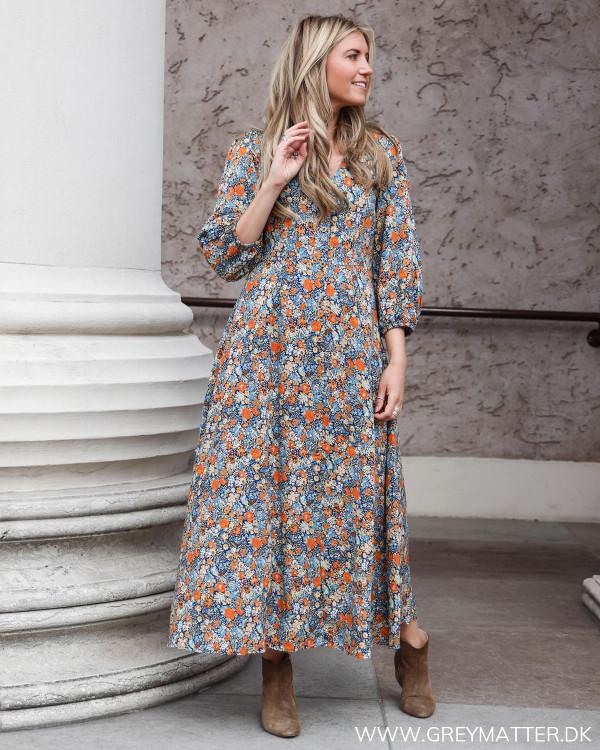 Kjole fra YAS med blomsterprint