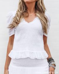 Fari White Blouse