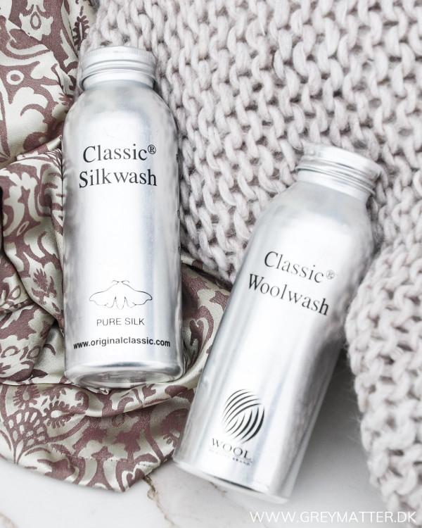 Uldvask og silkevask fra Classic Clothing Care