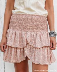 Carin Vintage Floral Rose Skirt