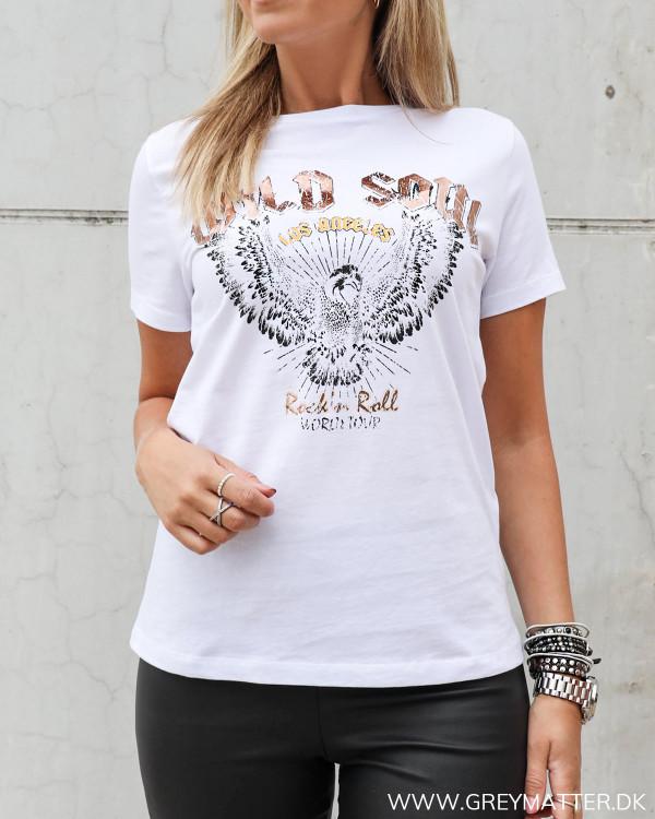 Ørne t-shirt i hvid fra Vila