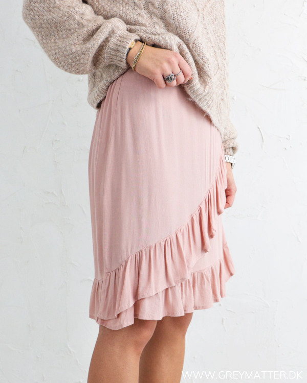 Pieces Pcflonny Misty Rose Skirt