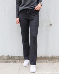 Viril Dark Grey Melange Pants