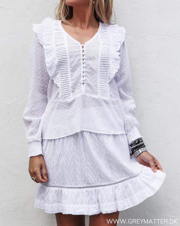 Neo Noir hvid bluse