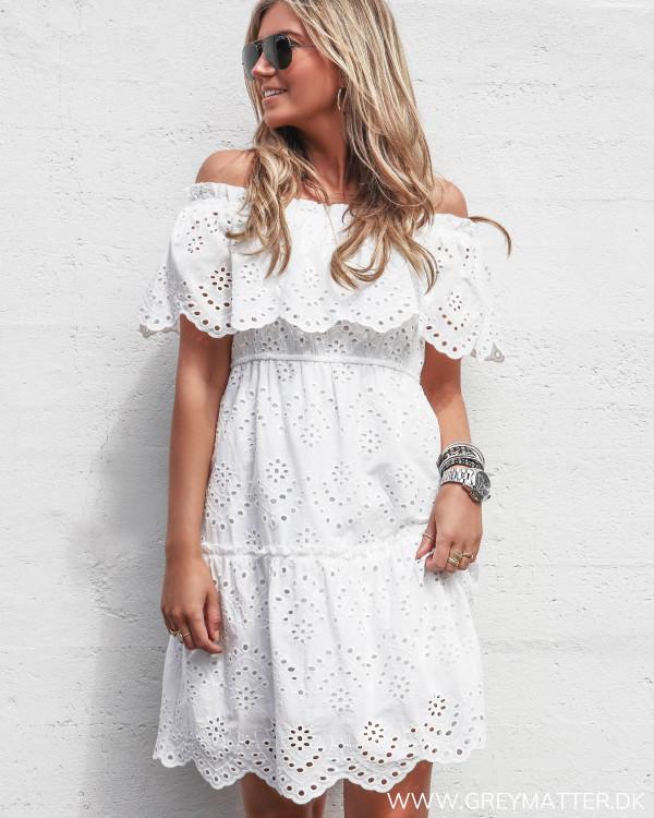 hvid villa kjole