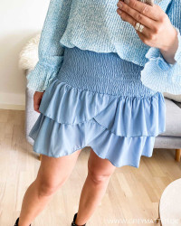 Carin Blue Wave Skirt