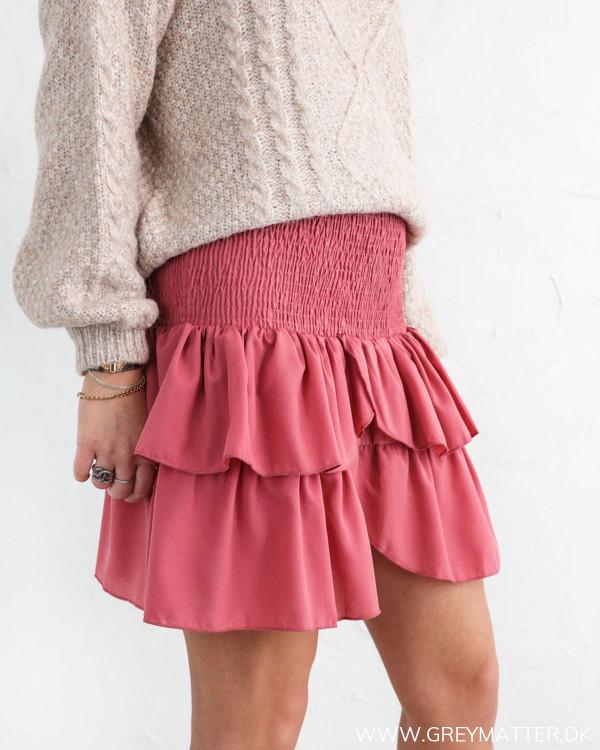 Neo Noir Carin Evening Rose Skirt