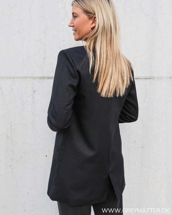 Sort jakke til damer