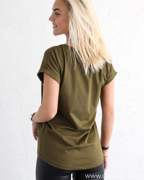 Vila Vidreamers Pure Dark Olive T-Shirt