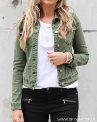 Lulu Short Green Jacket