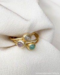 Three Multicolor Rings